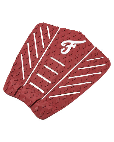 MAROON SURF HARDWARE FAMOUS TAILPADS - LUCK003MAR