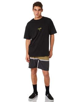 BLACK MENS CLOTHING GLOBE BOARDSHORTS - GB01828002BLK