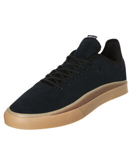 CORE BLACK MENS FOOTWEAR ADIDAS SKATE SHOES - DB3245CBLK
