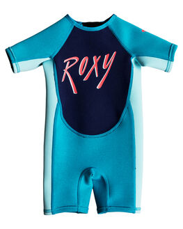 AQUA GLICER BLUE SURF WETSUITS ROXY SPRINGSUITS - EROW503002XBBB