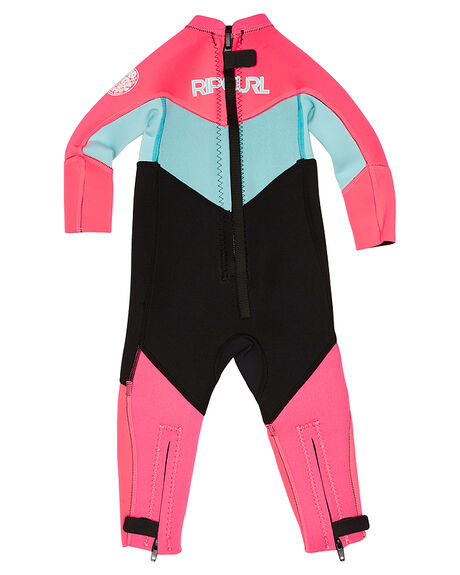 NEON PINK SURF WETSUITS RIP CURL STEAMERS - WSM6DO8871