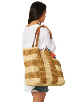 NATURAL WOMENS ACCESSORIES TIGERLILY BAGS + BACKPACKS - T482823NAT