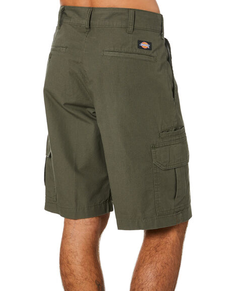 RINSED MOSS MENS CLOTHING DICKIES SHORTS - WR351RMS