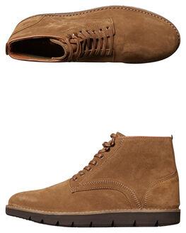 TAN MENS FOOTWEAR URGE BOOTS - URG16170TAN