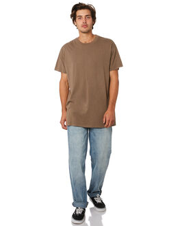 DUSTY BROWN MENS CLOTHING BILLABONG TEES - 9572051DSBRN