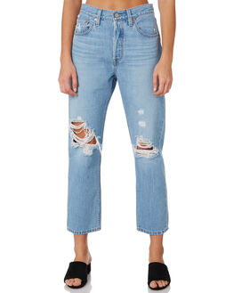 MONTGOMERY PATCHED WOMENS CLOTHING LEVI'S JEANS - 36200-0072MONT