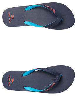 RED BLUE MENS FOOTWEAR RIP CURL THONGS - TMT4981939