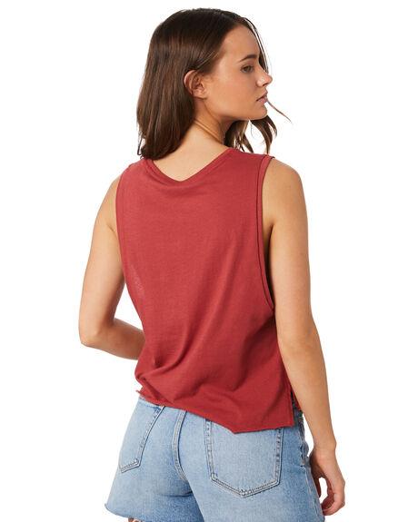CEDAR WOMENS CLOTHING HURLEY SINGLETS - CK0647-698