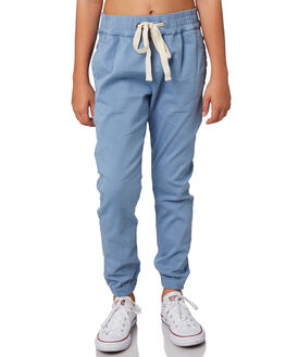 LIGHT BLUE KIDS GIRLS RIP CURL PANTS - JPAAW11080