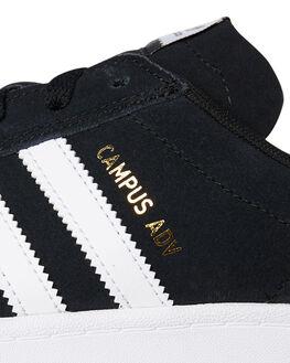 BLACK WHITE MENS FOOTWEAR ADIDAS SNEAKERS - SSB22716BLKM