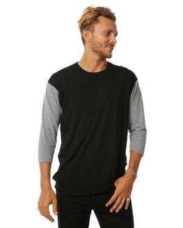 BLACK GREY MENS CLOTHING IMPERIAL MOTION TEES - 201703006022BLK