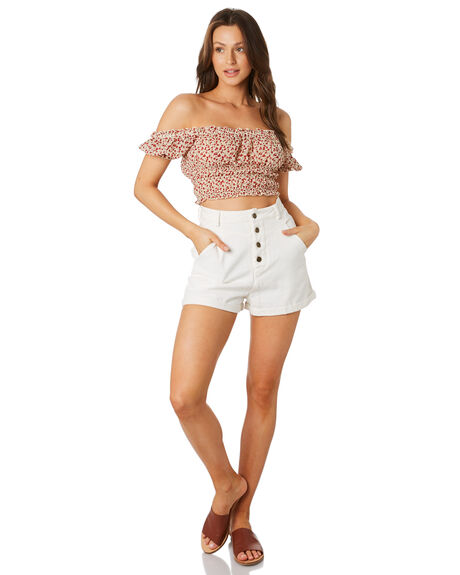 PRINT WOMENS CLOTHING LULU AND ROSE FASHION TOPS - LU23838PT