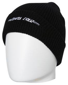 BLACK MENS ACCESSORIES SANTA CRUZ HEADWEAR - SC-MCB9230-3BL