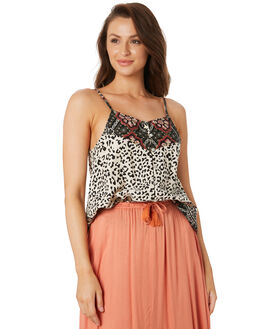 LEOPARD PATCHWORK WOMENS CLOTHING O'NEILL FASHION TOPS - 5721201LEO