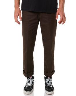 DARK BROWN MENS CLOTHING DICKIES PANTS - DCK874DBRN