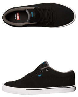 BLACK HAWAIIAN MENS FOOTWEAR GLOBE SKATE SHOES - GBNEWHAVEN-10747