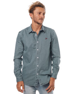 GREEN MENS CLOTHING THE CRITICAL SLIDE SOCIETY SHIRTS - SAS1711GREEN