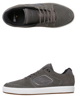 GREY MENS FOOTWEAR EMERICA SKATE SHOES - 6102000118-020
