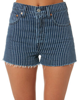 PINSTRIPE WOMENS CLOTHING LEVI'S SHORTS - 77879-0014PINS