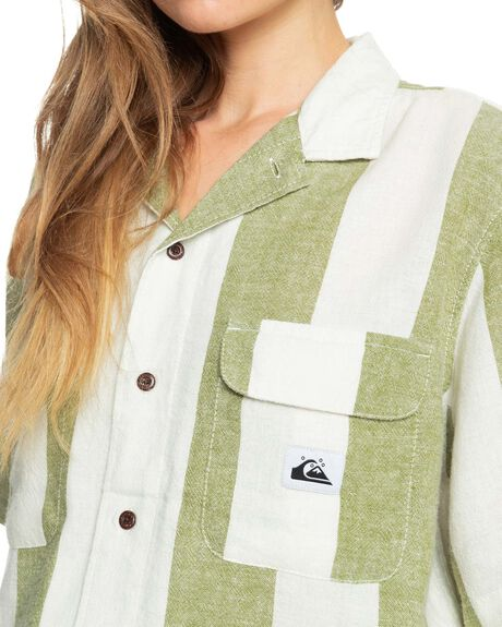 CALLISTE GR BOLD LIN WOMENS CLOTHING QUIKSILVER FASHION TOPS - EQWWT03059-GMV3