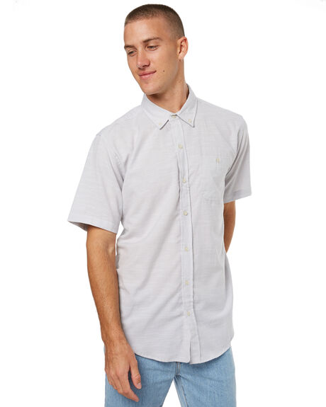 SILVER MENS CLOTHING EZEKIEL SHIRTS - ES172047SILV