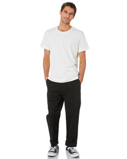 BLACK MENS CLOTHING DEPACTUS PANTS - D5204191BLACK