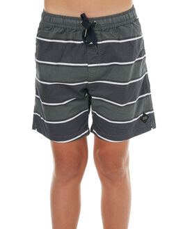NAVY KIDS BOYS SWELL BOARDSHORTS - S3183234NAVY