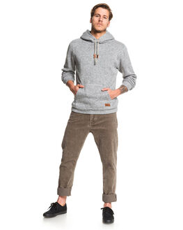MEDIUM GREY HEATHER MENS CLOTHING QUIKSILVER JUMPERS - EQYFT04009-KPVH