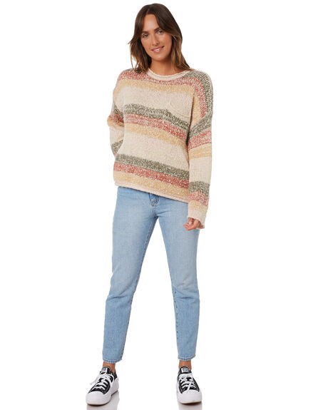 OFF WHITE WOMENS CLOTHING RIP CURL KNITS + CARDIGANS - GSWAW90003