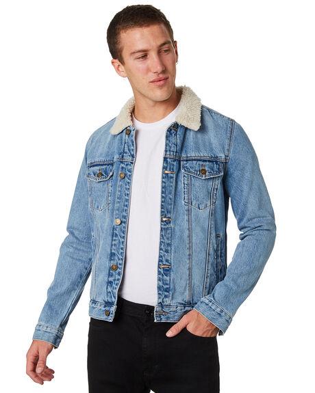 BLUE RIDGE SHERPA MENS CLOTHING A.BRAND JACKETS - 812734306