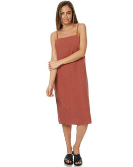TERRACOTTA WOMENS CLOTHING RUSTY DRESSES - DRL0870TRC
