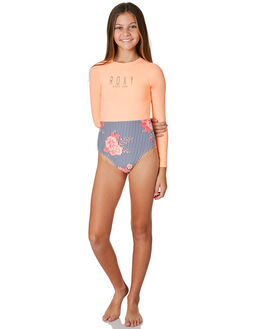 MEDIEVAL BLUE KIDS GIRLS ROXY SWIMWEAR - ERGWR03115BTE7