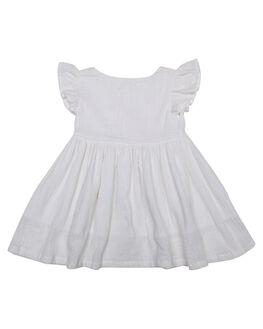 WHITE KIDS TODDLER GIRLS SWEET CHILD OF MINE DRESSES + PLAYSUITS - SMU18BBDLDRSSWHT