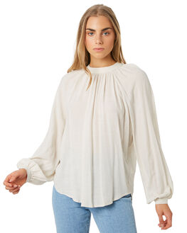 SAND WOMENS CLOTHING THE HIDDEN WAY FASHION TOPS - H8194170SAND
