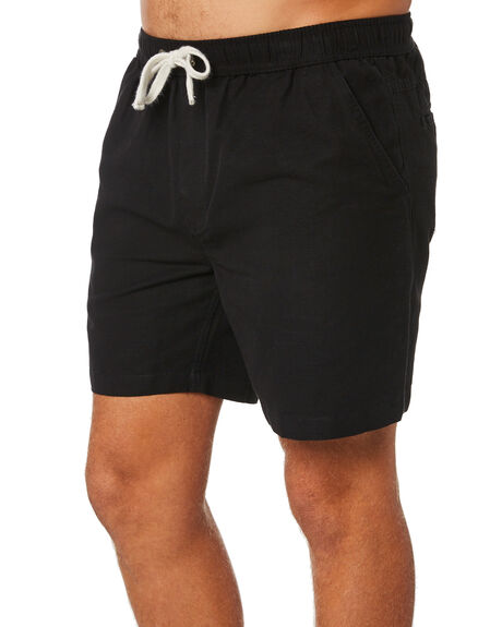 BLACK MENS CLOTHING SWELL SHORTS - S5201234BLACK