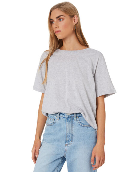 GREY MARLE WOMENS CLOTHING NUDE LUCY TEES - NU23456GMARLE