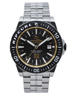 BLACK MENS ACCESSORIES RIP CURL WATCHES - A19690090