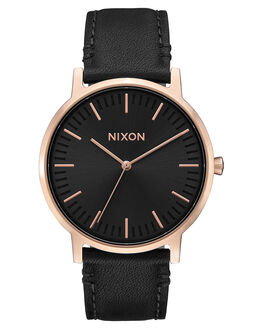ROSE GOLD BLACK WOMENS ACCESSORIES NIXON WATCHES - A10581098