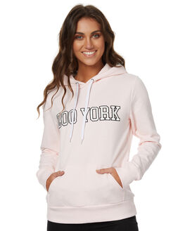 FLUSH PINK WOMENS CLOTHING ZOO YORK JUMPERS - ZY-WFC7253FPNK