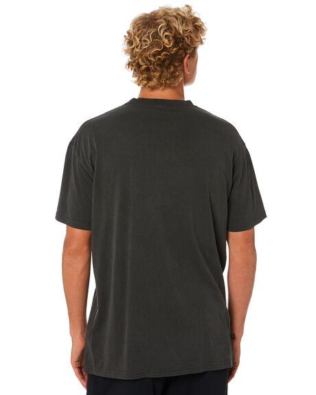 DARK CHARCOAL MENS CLOTHING STUSSY TEES - ST005000DKCHR