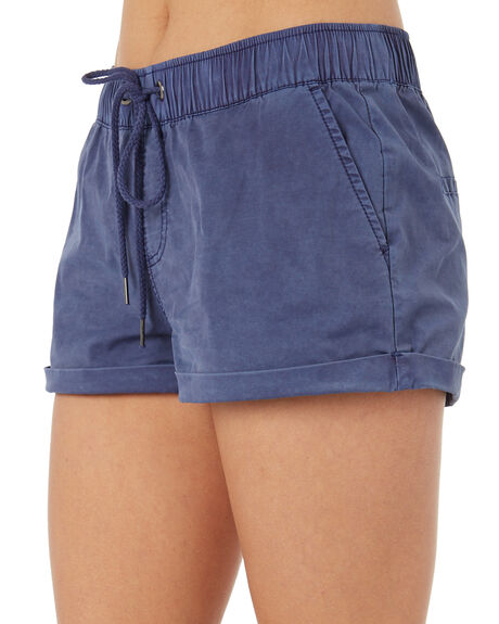 NAVY WOMENS CLOTHING SWELL SHORTS - S8173231NAVY