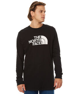 TNF BLACK MENS CLOTHING THE NORTH FACE TEES - NF00CZY9KY4