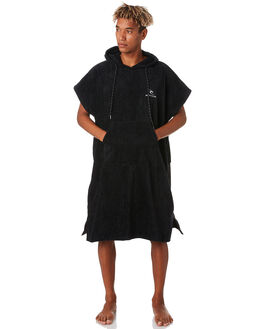 BLACK MENS ACCESSORIES RIP CURL TOWELS - CTWCQ10090