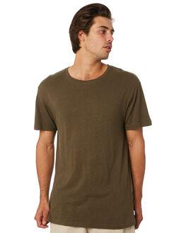 OLIVE MENS CLOTHING RHYTHM TEES - JUL19M-CT03-OLI