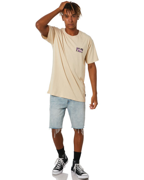 OATMEAL MENS CLOTHING RUSTY TEES - TTM2574OAT