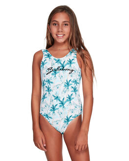 WHITE KIDS GIRLS BILLABONG SWIMWEAR - BB-5592558-WHT