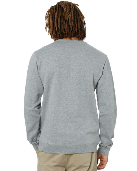 HEATHER GREY MENS CLOTHING VOLCOM JUMPERS - A4602004HGRP