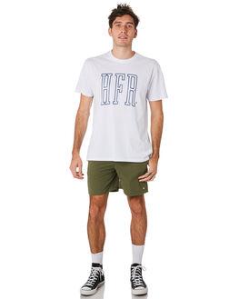WHITE MENS CLOTHING HUFFER TEES - MTE93S40110WHT