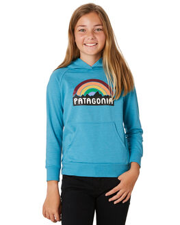 MAKO BLUE KIDS GIRLS PATAGONIA JUMPERS + JACKETS - 63030MABL