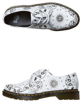 WHITE BANDANA PRINT WOMENS FOOTWEAR DR. MARTENS SNEAKERS - SS21865101BANDWW